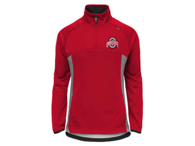 Ohio State Buckeyes Outerstuff NCAA Youth Girls Extreme Quarter Zip Pullover