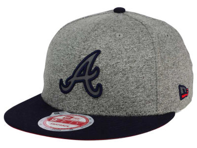 Atlanta Braves New Era MLB Americana 9FIFTY Snapback Cap