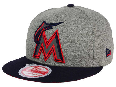 Miami Marlins New Era MLB Americana 9FIFTY Snapback Cap