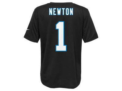 Carolina Panthers Cam Newton Nike NFL Youth Pride Name and Number T-Shirt