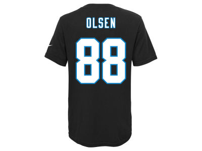 Carolina Panthers Greg Olsen Nike NFL Youth Pride Name and Number T-Shirt