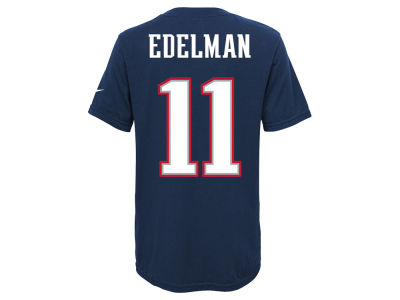 New England Patriots Julian Edelman Nike NFL Youth Pride Name and Number T-Shirt