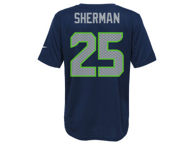 Seattle Seahawks Richard Sherman Nike NFL Youth Pride Name and Number T-Shirt