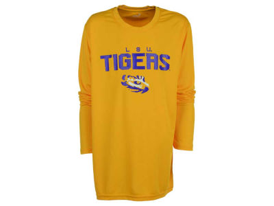 LSU Tigers Outerstuff NCAA Youth Involution Dri-Tek Long Sleeve T-Shirt