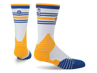Golden State Warriors Stance NBA On Court Core Crew Sock