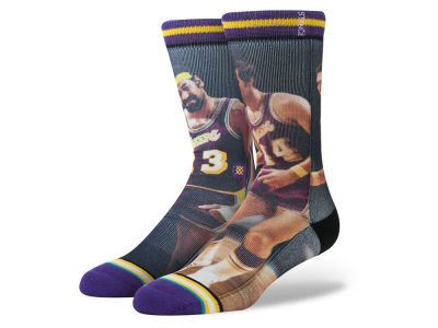 Los Angeles Lakers Chamberlin/West Stance Legend Player Sock