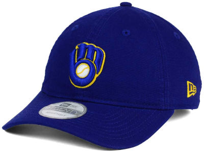 Milwaukee Brewers New Era MLB Relaxed 9TWENTY Cap