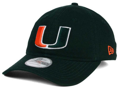 Miami Hurricanes New Era NCAA Relaxed 9TWENTY Cap