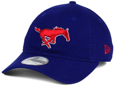 Southern Methodist Mustangs New Era NCAA Relaxed 9TWENTY Cap
