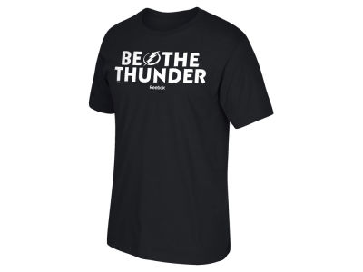 Tampa Bay Lightning Reebok NHL Men's Be The Thunder T-Shirt