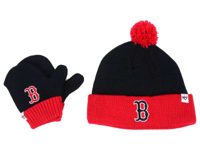 Boston Red Sox '47 MLB Toddler '47 Bam Bam Knit Set