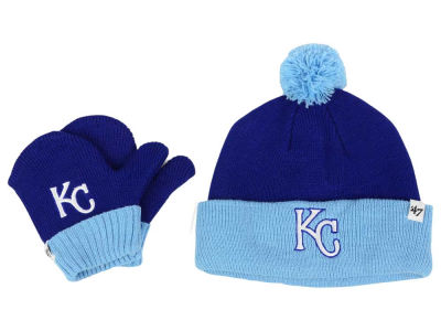 Kansas City Royals '47 MLB Toddler '47 Bam Bam Knit Set