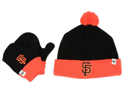San Francisco Giants '47 MLB Toddler '47 Bam Bam Knit Set