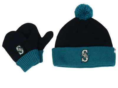 Seattle Mariners '47 MLB Toddler '47 Bam Bam Knit Set