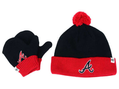 Atlanta Braves '47 MLB Toddler '47 Bam Bam Knit Set