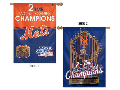 New York Mets Two-Sided Banner