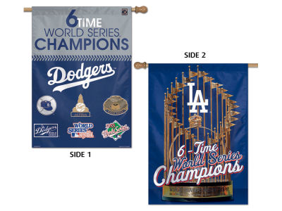 Los Angeles Dodgers Two-Sided Banner