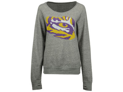 LSU Tigers NCAA Women's Big Canvas Knobi Sweatshirt