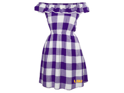 LSU Tigers NCAA Women's Crestone Gingham Dress