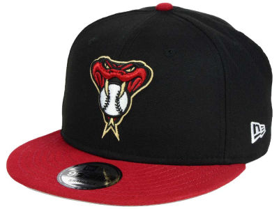 Arizona Diamondbacks New Era MLB 2Tone Link BP 9FIFTY Snapback Cap