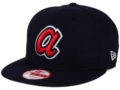Atlanta Braves New Era MLB 2Tone Link BP 9FIFTY Snapback Cap