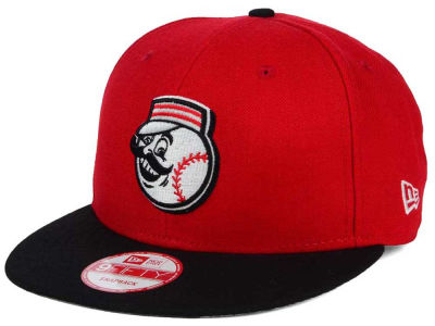 Cincinnati Reds New Era MLB 2Tone Link BP 9FIFTY Snapback Cap