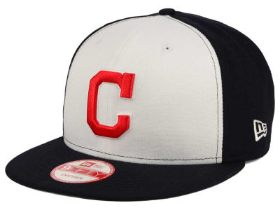 Cleveland Indians New Era MLB 2Tone Link BP 9FIFTY Snapback Cap