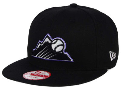Colorado Rockies New Era MLB 2Tone Link BP 9FIFTY Snapback Cap
