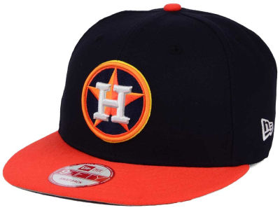 Houston Astros New Era MLB 2Tone Link BP 9FIFTY Snapback Cap