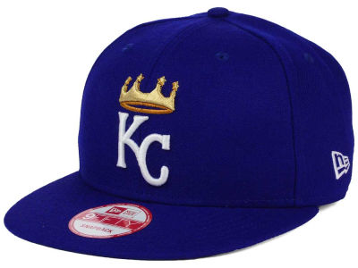 Kansas City Royals New Era MLB 2Tone Link BP 9FIFTY Snapback Cap