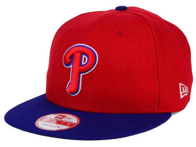 Philadelphia Phillies New Era MLB 2Tone Link BP 9FIFTY Snapback Cap