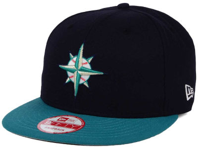 Seattle Mariners New Era MLB 2Tone Link BP 9FIFTY Snapback Cap
