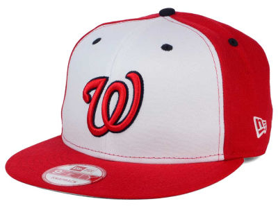 Washington Nationals New Era MLB 2Tone Link BP 9FIFTY Snapback Cap