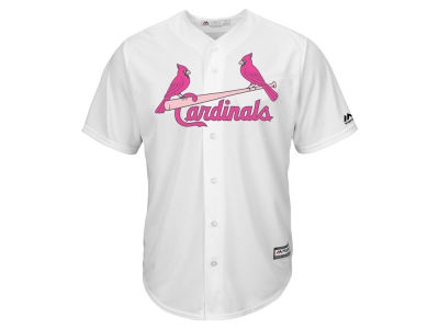St. Louis Cardinals Majestic MLB Mens Mothers Day Cool Base Jersey