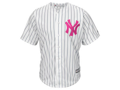 New York Yankees Majestic MLB Mens Mothers Day Cool Base Jersey