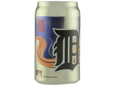 Detroit Tigers Mirror Glass Can