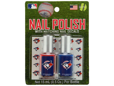 Toronto Blue Jays 2-pack Nail Polish w/ Decals