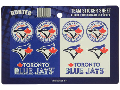 Toronto Blue Jays Sticker Sheet