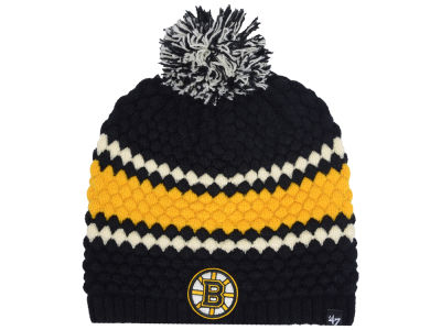 Boston Bruins '47 NHL Women's Leslie Pom Knit