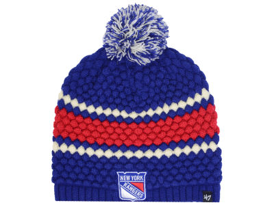 New York Rangers '47 NHL Women's Leslie Pom Knit