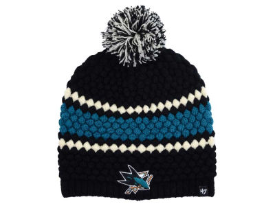San Jose Sharks '47 NHL Women's Leslie Pom Knit