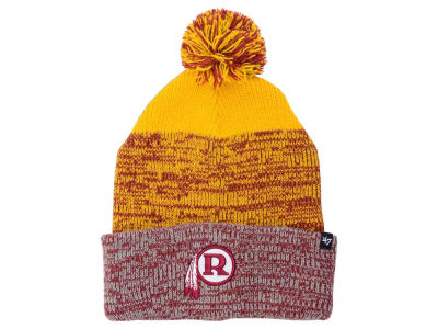 Washington Redskins '47 NFL Static Cuff Pom Knit