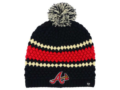 Atlanta Braves '47 MLB Women's Leslie Knit