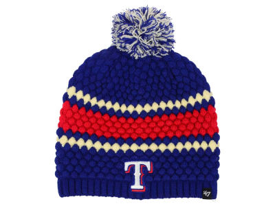 Texas Rangers '47 MLB Women's Leslie Knit
