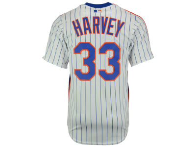 New York Mets Matt Harvey Majestic MLB Men's Player Replica CB Jersey