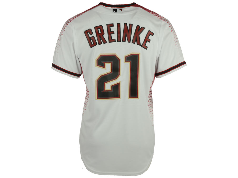 c8f76bfcd ... road grey jersey 925aa a1aa9  coupon for arizona diamondbacks zack  greinke majestic mlb mens player replica cool base jersey 3ea87 cfb1f