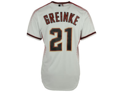 Arizona Diamondbacks Zack Greinke Majestic MLB Men's Player Replica CB Jersey