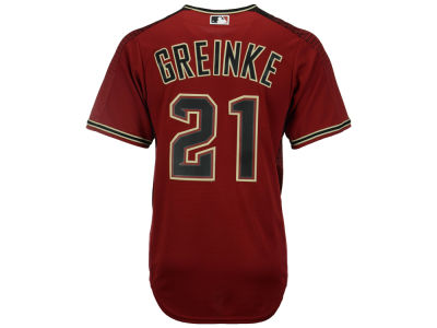 Arizona Diamondbacks Zach Greinke Majestic MLB Men's Player Replica CB Jersey