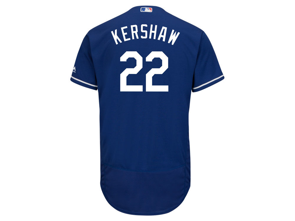 65e7bb6ce Los Angeles Dodgers Clayton Kershaw Majestic MLB Men s Flexbase On-Field  Player Jersey