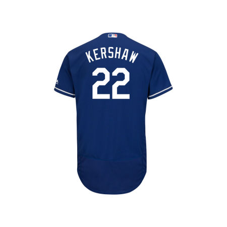 Los Angeles Dodgers Clayton Kershaw Majestic MLB Men's Flexbase On-Field Player Jersey